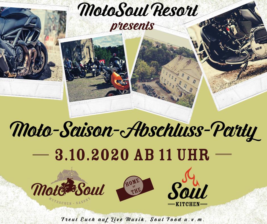 Moto-Saison Abschluss Party